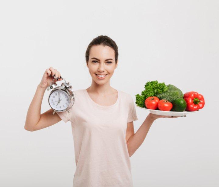 orario dei pasti per la perdita di pesona
